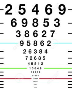 Eye sight test chart or snellen stock photo also picture and rh rf
