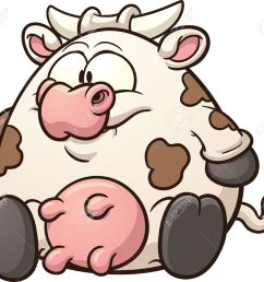 fat cow clip art stock vector 23830106 [ 1300 x 1120 Pixel ]