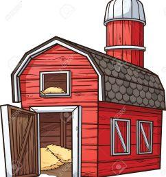 red cartoon barn stock vector 26036677 [ 1171 x 1300 Pixel ]
