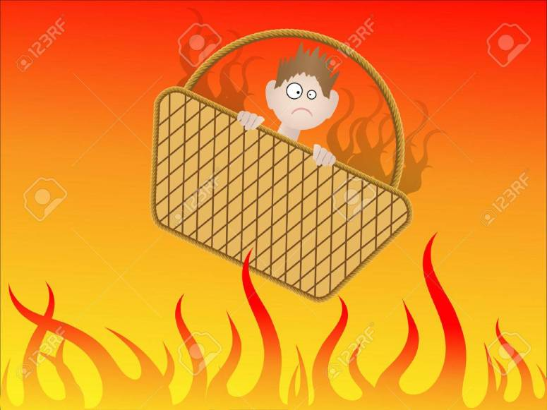 Going To Hell In A Handbasket - Vector Royalty Free Cliparts, Vectors, And  Stock Illustration. Image 3213461.