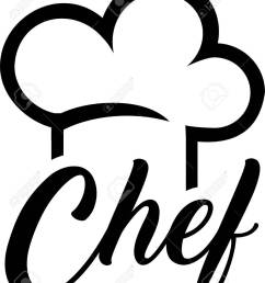 chef hat with chef word stock vector 81569190 [ 1039 x 1300 Pixel ]