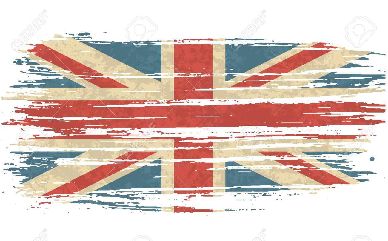 vector illustration vintage flag