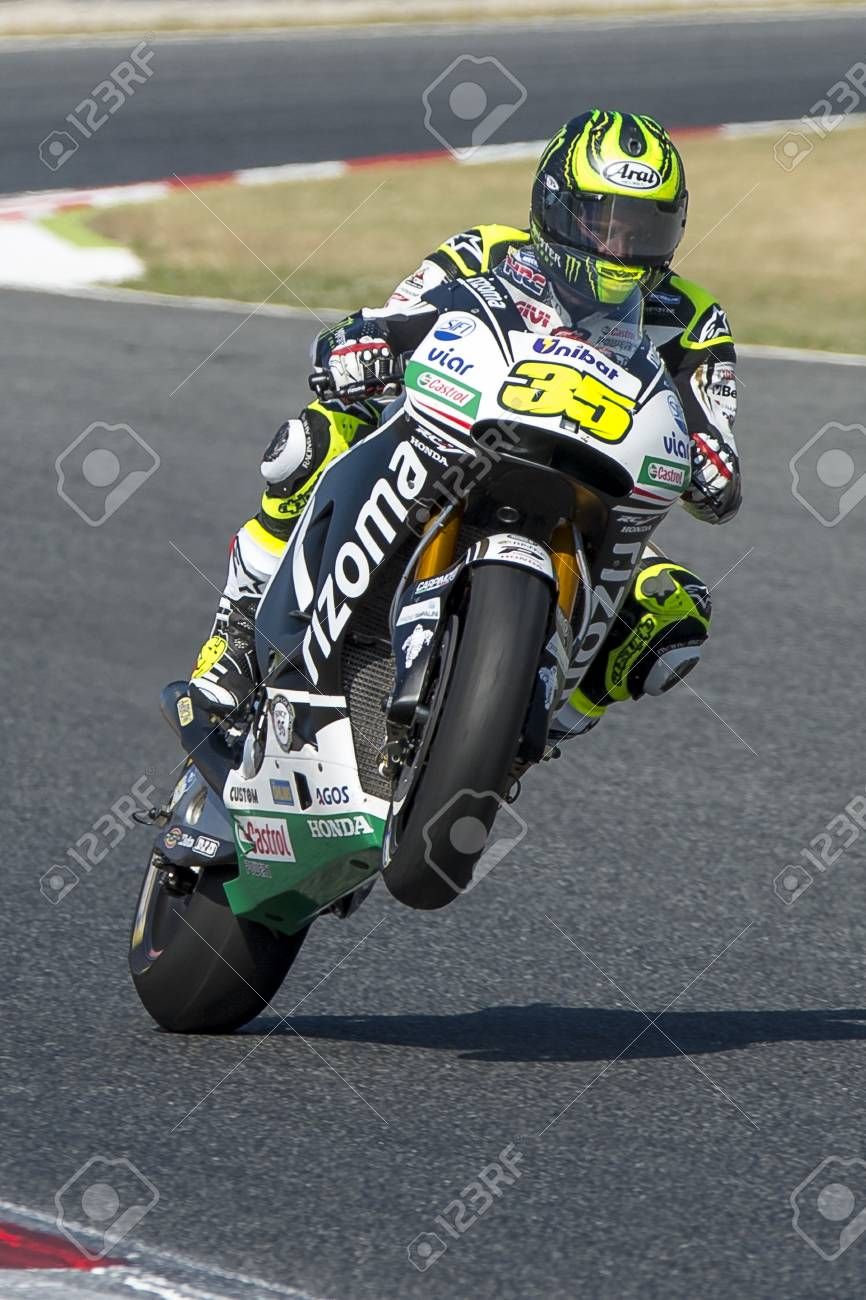 Download Motogp Catalunya 2016 : download, motogp, catalunya, Driver, Crutchlow., Honda, Team., Monster, Energy, Grand, Prix.., Stock, Photo,, Picture, Royalty, Image., Image, 58004461.
