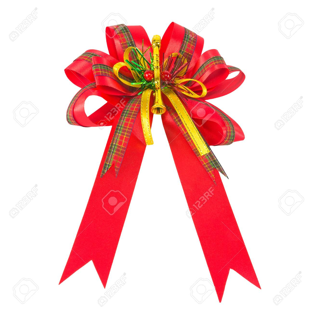 big red gift bow