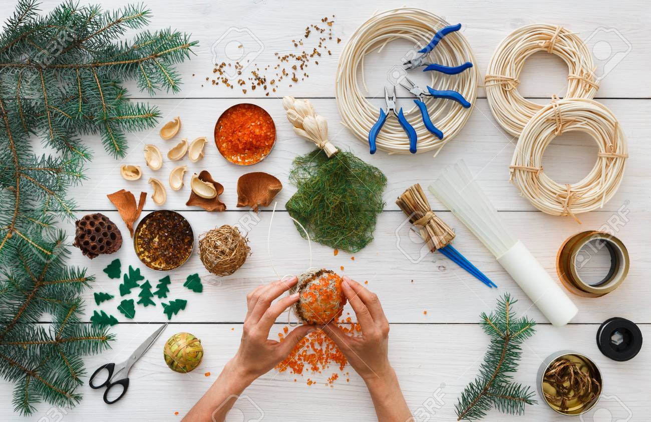 Christmas Ornament Garland Balls