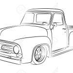 Old Pickup Digital Drawing Royalty Free Cliparts Vectors And Stock Illustration Image 22635455