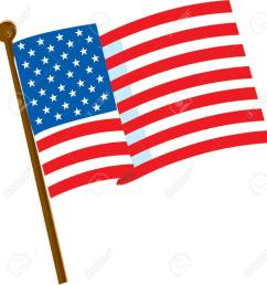 american flag on a white background with 50 stars stock vector 866673 [ 1256 x 1300 Pixel ]