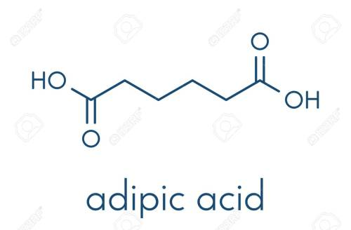 small resolution of adipic acid nylon building block molecule monomer used in production of nylon polyamide polymer