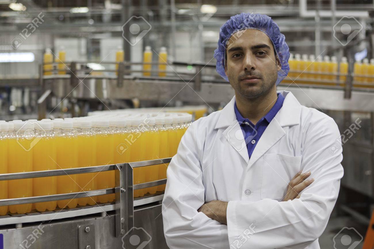 portrait of confident factory
