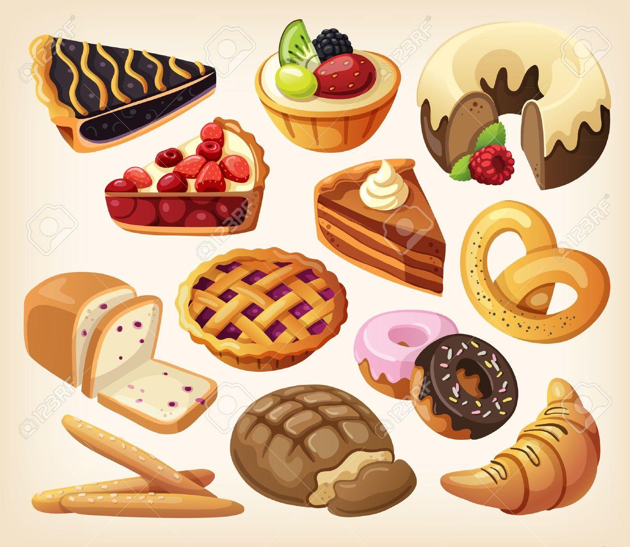 Resultado de imagen de panaderias panes y pasteles juntos