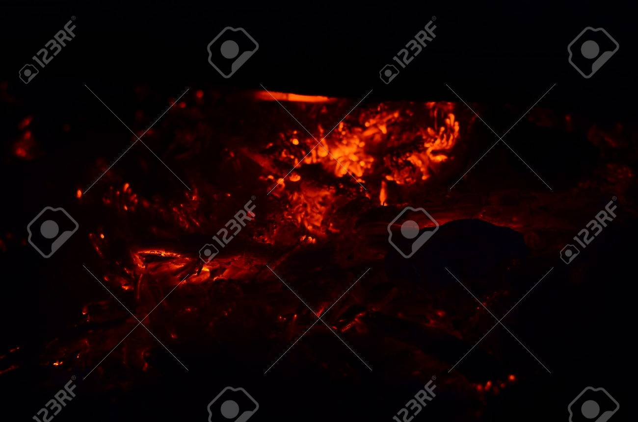 detailed fire background full