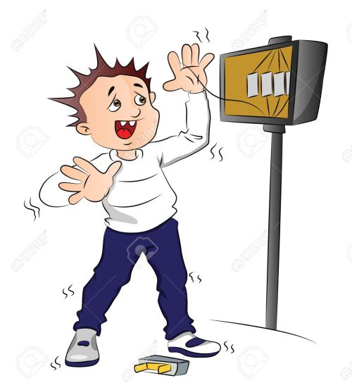 small resolution of cartoon fuse box vector illustration of man receiving an electric shock aftervector vector illustration of man receiving an electric