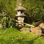 Steinskulptur In Einem Japanischen Garten Im Fruhling Lizenzfreie Fotos Bilder Und Stock Fotografie Image 58538410