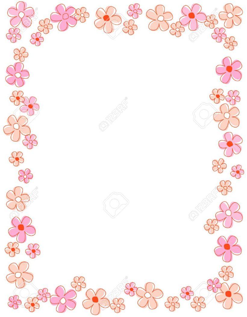 Flower Borders And Frames Amtframe