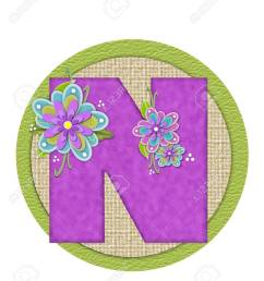 imagens the letter n in the alphabet set backyard bouquet is lilac and decorated with layered flowers in blue and lilac  [ 1072 x 1300 Pixel ]