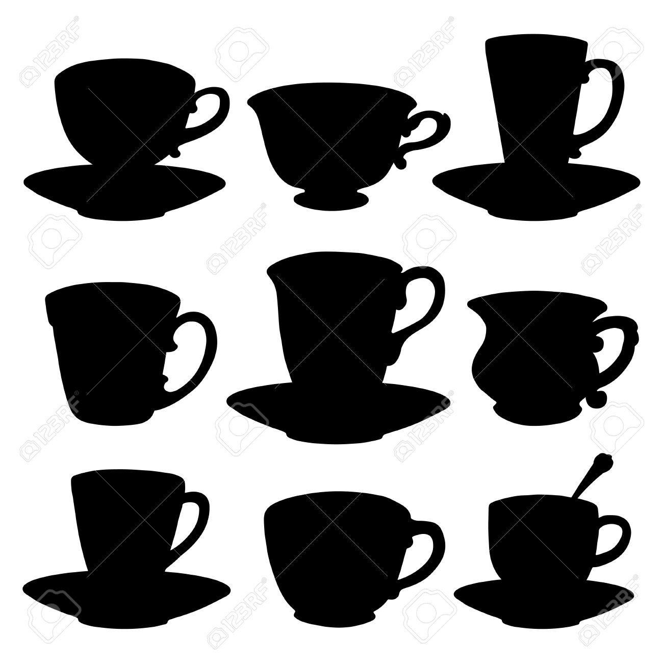 tea cups coffee cups
