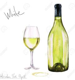stock photo watercolor food clipart wine [ 1300 x 1300 Pixel ]