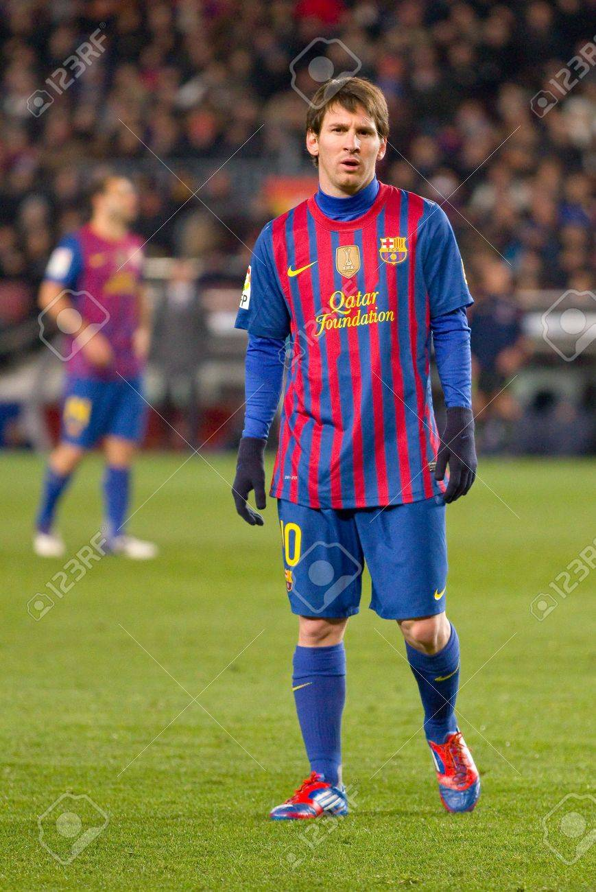 Messi 2012 : messi, BARCELONA, FEBRUARY, Messi, Action, During, Spanish.., Stock, Photo,, Picture, Royalty, Image., Image, 14938701.