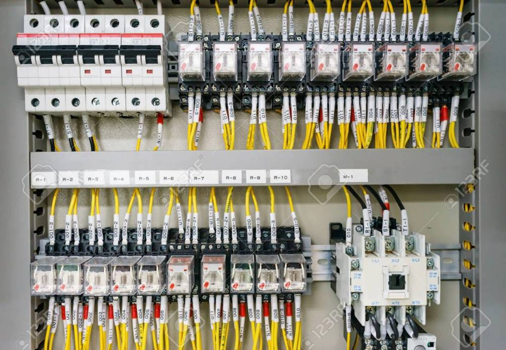 medium resolution of electical distribution fuseboard electrical supplies electrical panel at a assembly line factory controls