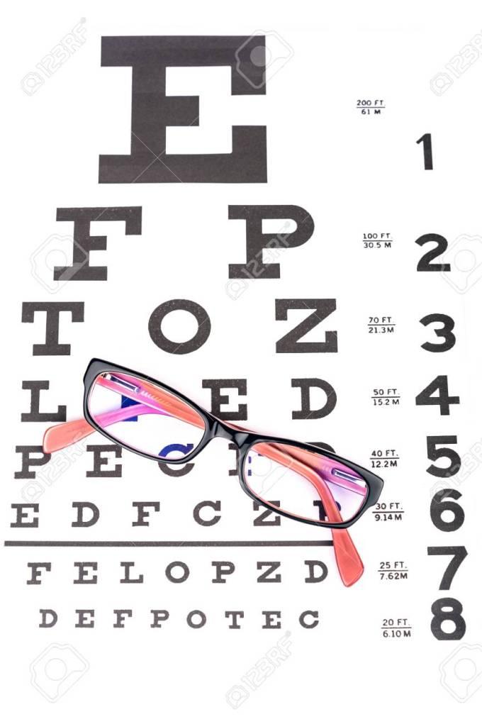 Snellen Eye Test Chart Jidimakeup