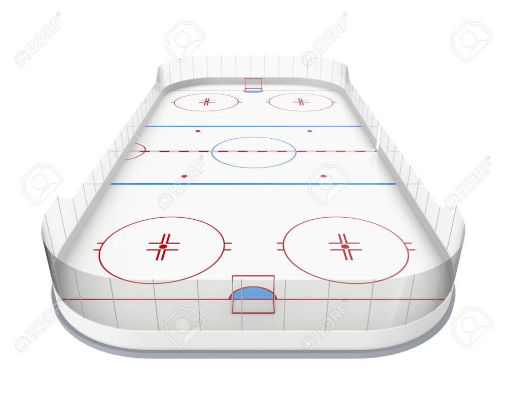 medium resolution of ice hockey rink isolated stock photo 86755763
