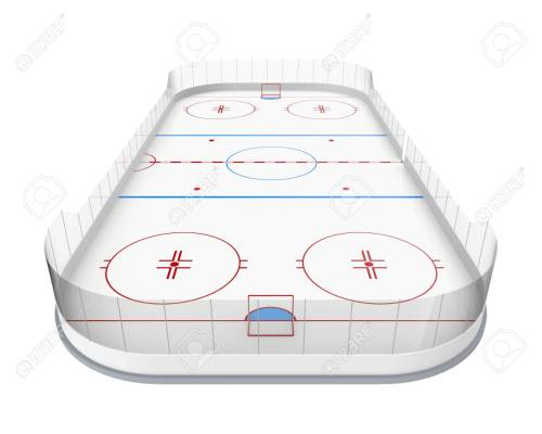 small resolution of ice hockey rink isolated stock photo 86755763