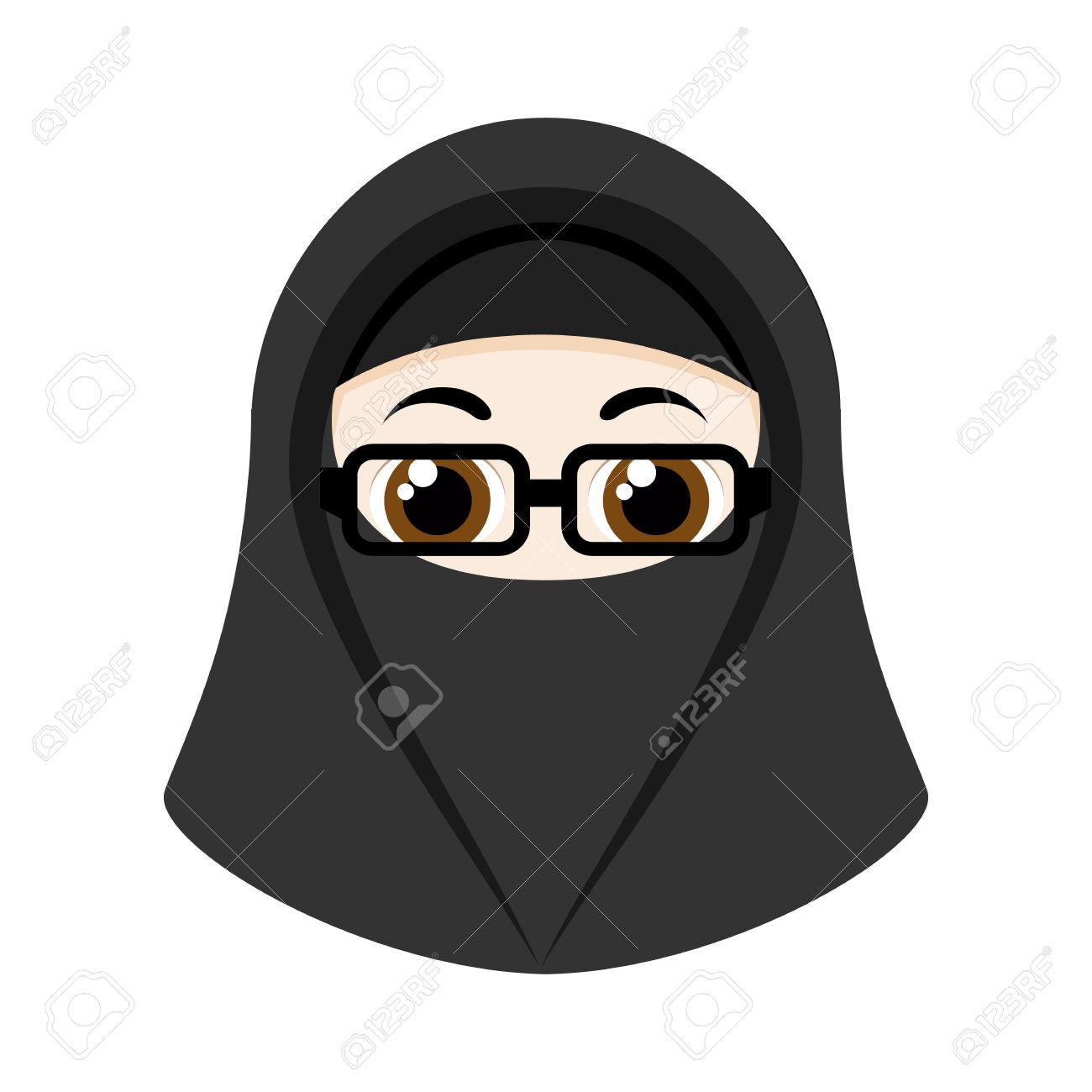 · muslim wedding couple cartoon royalty free stock. Cartoon Girl With Black Niqab Isolated On White Background Royalty Free Cliparts Vectors And Stock Illustration Image 56428342