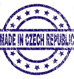 made in czech republic stamp seal watermark with grunge texture designed with rectangle circles [ 1300 x 1089 Pixel ]