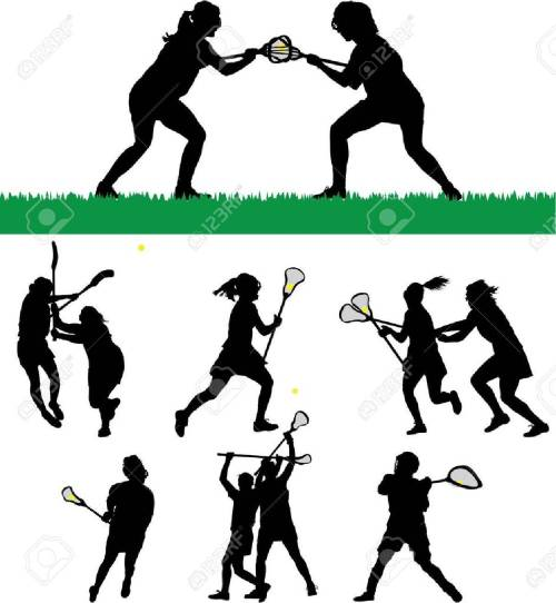 small resolution of vector women s lacrosse vector silhouettes