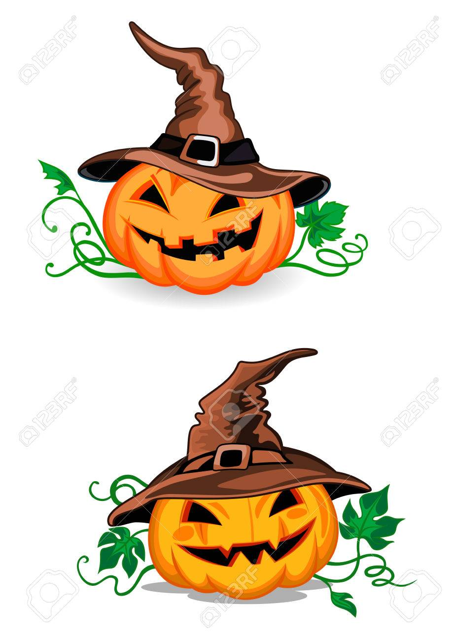 Cute Cartoon Halloween Pictures : cartoon, halloween, pictures, Pumpkin, Halloween, Lanterns, Witch, Cartoon, Style.., Royalty, Cliparts,, Vectors,, Stock, Illustration., Image, 41415333.