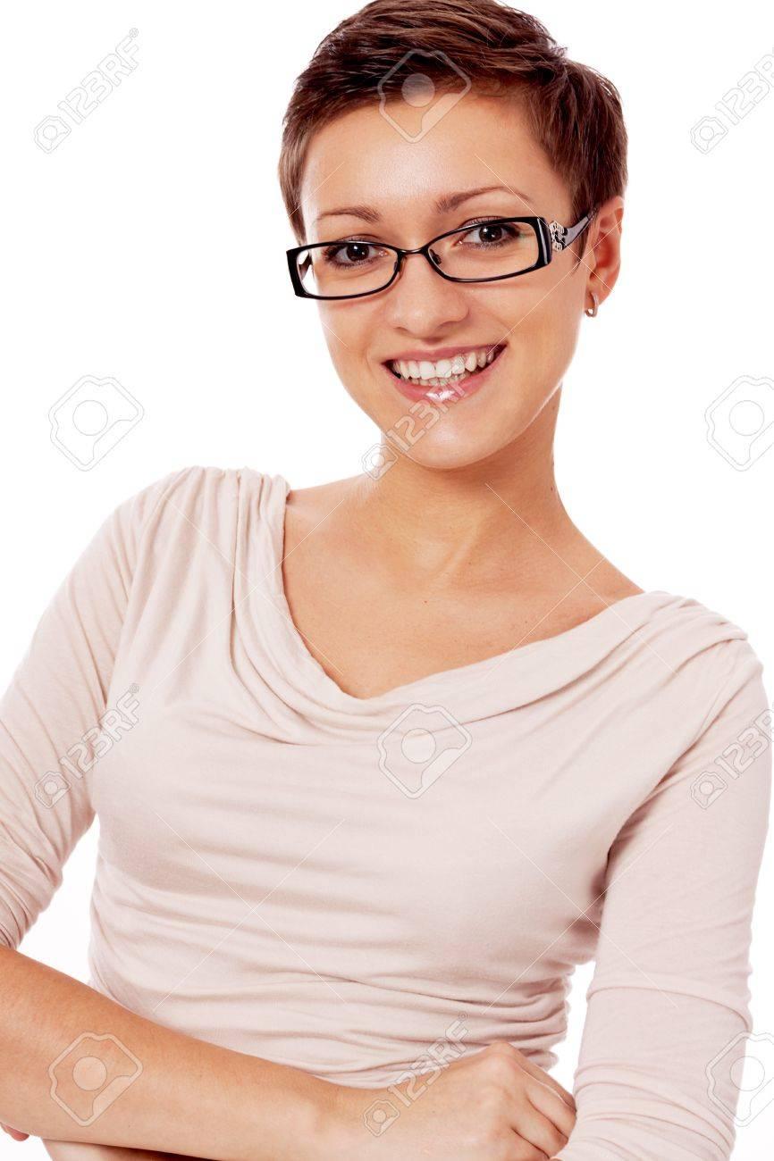 Kurzhaarschnitt Fur Frauen Mit Brille
