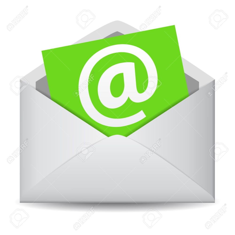 medium resolution of email icon vector clip art for web contact and business newsletter with an e mail
