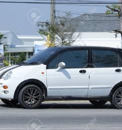 chiangmai thailand february 5 2016 private car chery qq on road [ 1300 x 866 Pixel ]