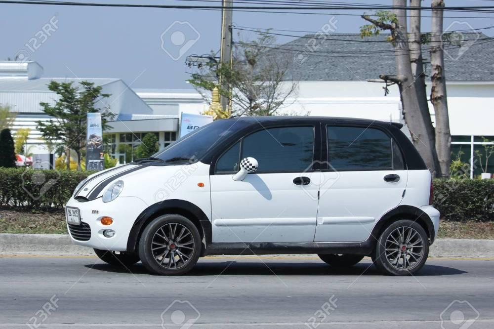 medium resolution of chiangmai thailand february 5 2016 private car chery qq on road