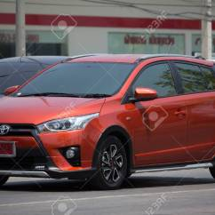 New Yaris Trd 2017 Review Agya 2018 Chiang Mai Thailand April 21 Private Car Toyota Eco
