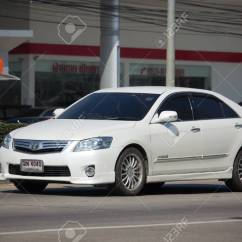All New Toyota Camry 2018 Thailand Grand Avanza 1300cc Chiang Mai January 8 Private Car On Road