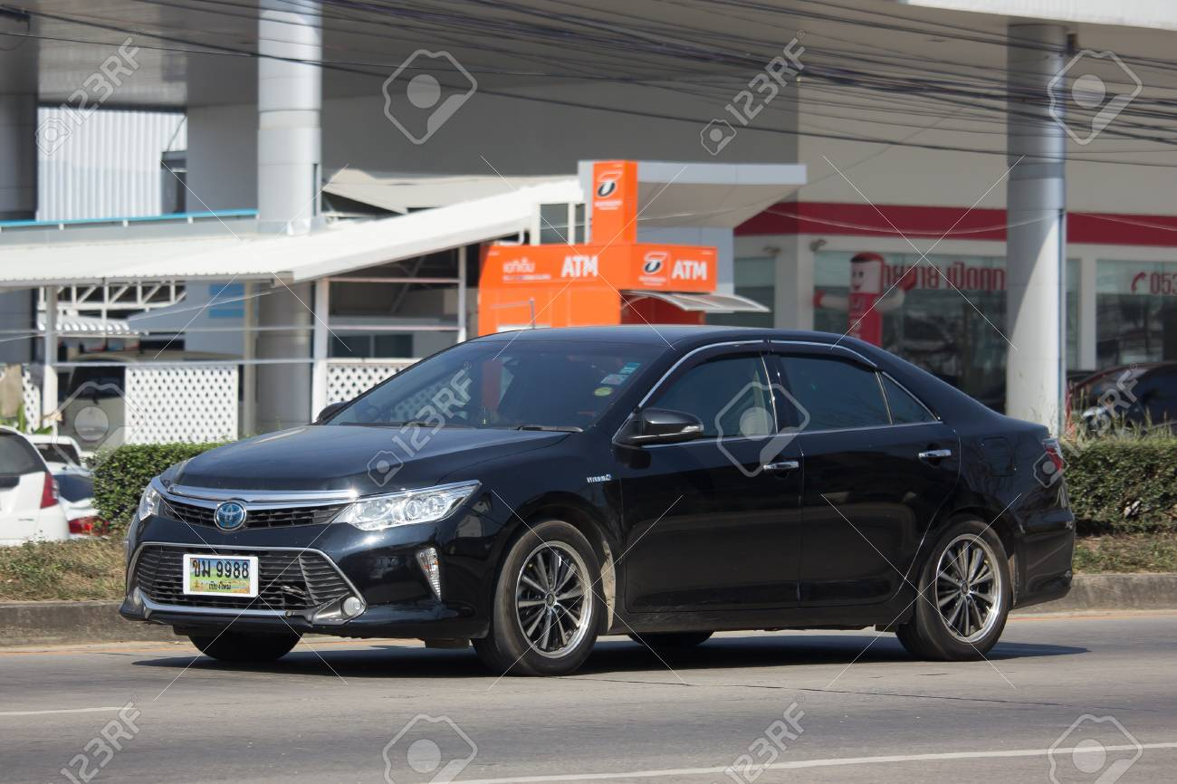all new toyota camry 2018 thailand yaris trd 2017 chiang mai january 16 private car on road