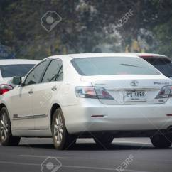 All New Camry 2018 Thailand Ukuran Ban Grand Avanza Veloz Chiang Mai March 6 Private Car Toyota On Road