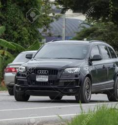 chiangmai thailand july 31 2018 private suv car from audi q6 photo [ 1300 x 866 Pixel ]
