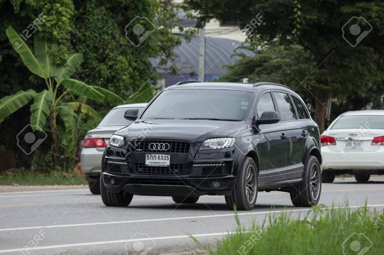 hight resolution of chiangmai thailand july 31 2018 private suv car from audi q6 photo