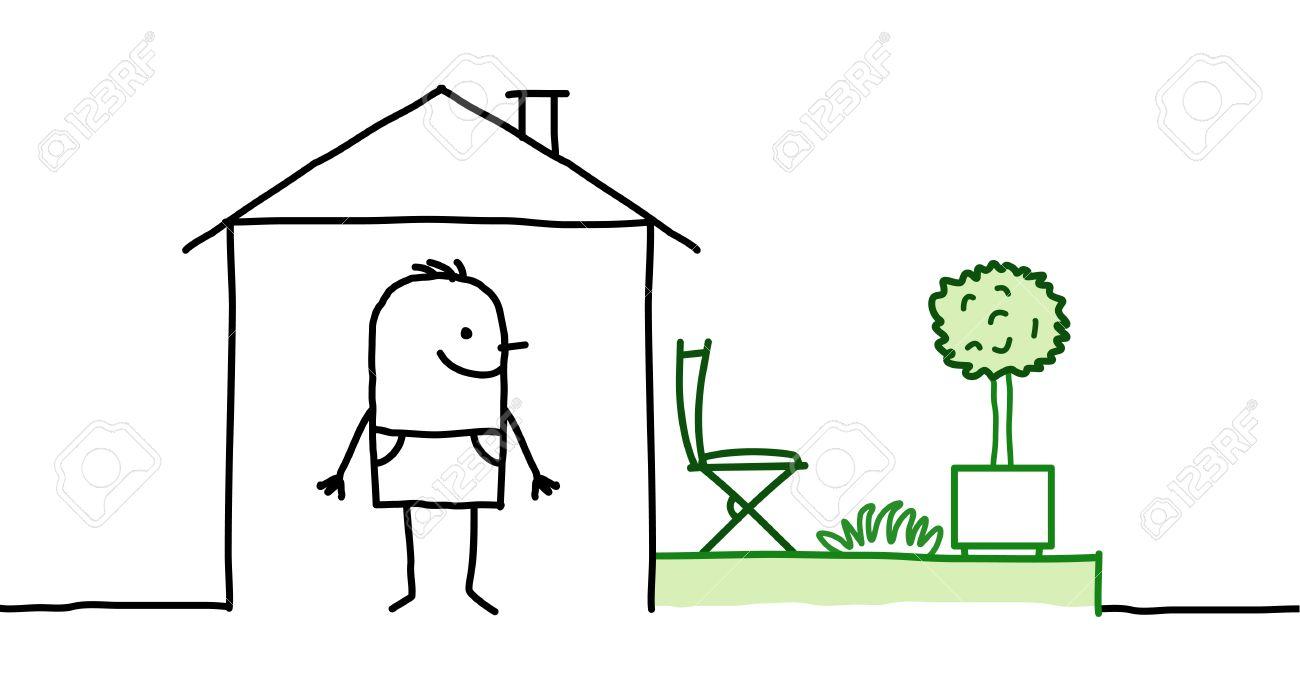 Maison Jardin Dessin Comment Dessiner Un Jardin 84224 60 Ment