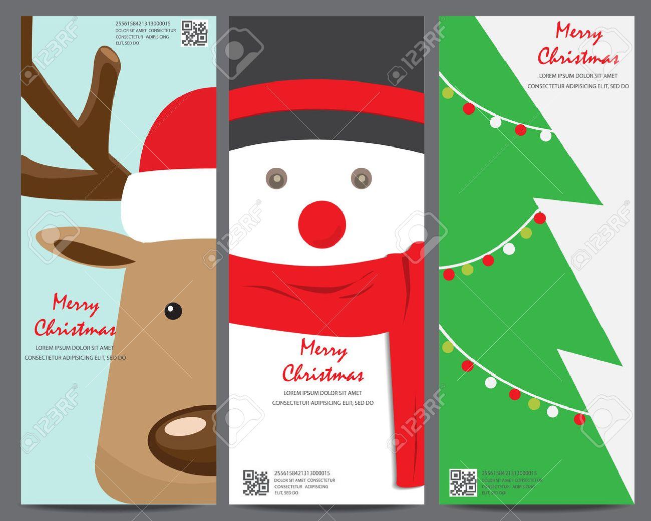 Cartolina Di Natale Modello Di Invito Può Essere Utilizzato Per Biglietto Da Visita Lo Shopping La Vendita Al Cliente E La Promozione Il Layout