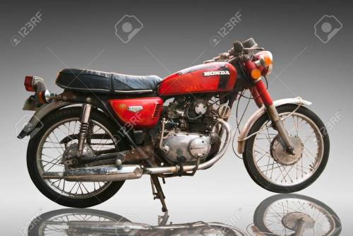 small resolution of stock photo vintage classic motorcycle honda 125 cc editorial use only use of this image in advertising or for promotional purposes is prohibited