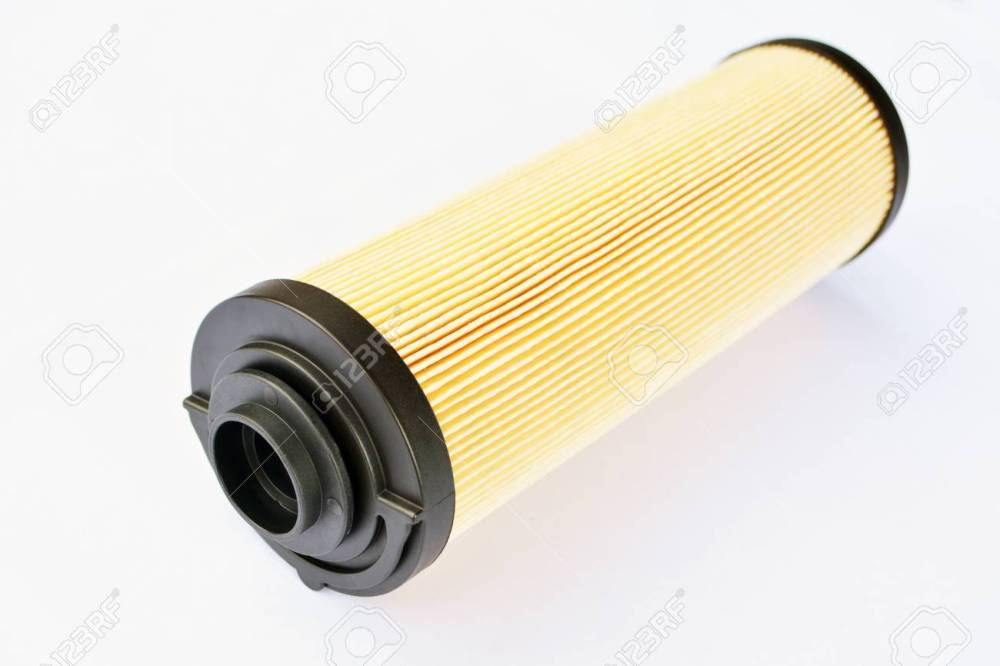 medium resolution of car fuel filter isolated on white background foto de archivo 109634052