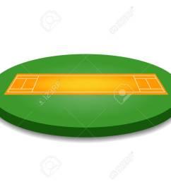 cricket pitch illustration cricket pitch on white background cricket pitch vector pitch illustration [ 1300 x 920 Pixel ]