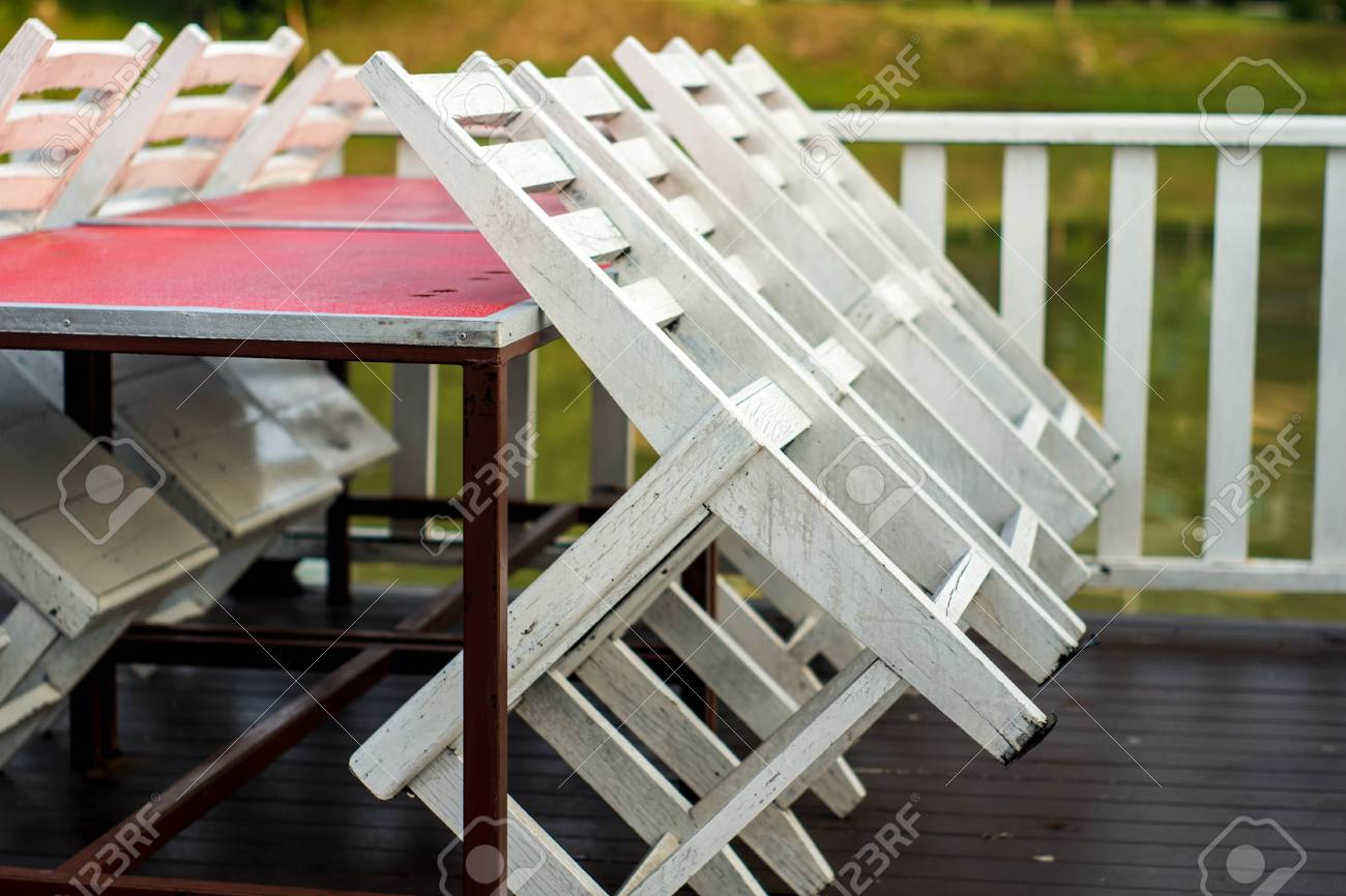 chair rail upside down little tikes wooden desk and white table is not available stock photo picture
