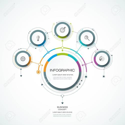 small resolution of infographics for business presentations or information banner process diagram flow chart graph scheme