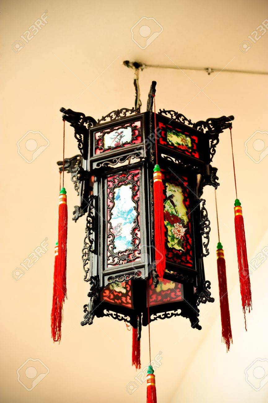 chinese hanging lamp with