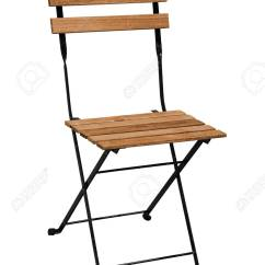 Folding Chair Legs Patio Feet Replacements Wooden With Steel On White Background Work Stock Photo Path