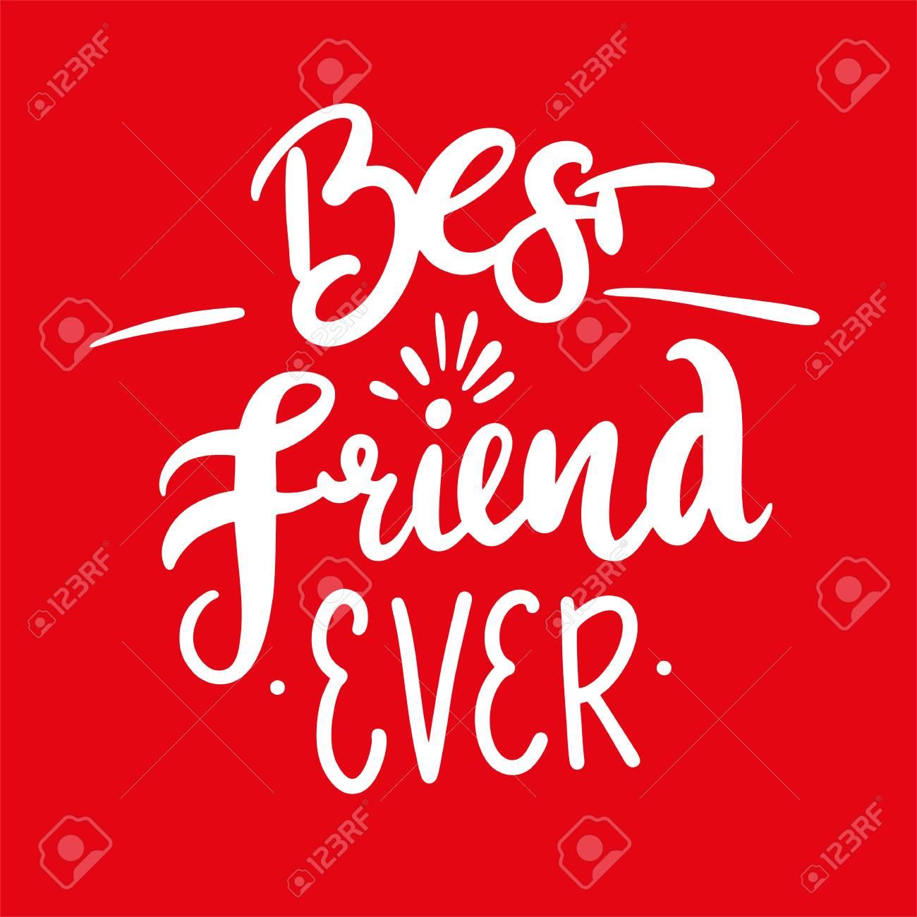 best friends ever hand